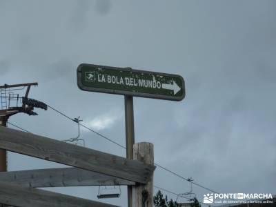 Cuerda de las Cabrillas - Senderismo en el Ocaso;cercedilla senderismo rutas a pie madrid